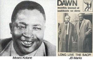 JB Marks, Moses Kotane