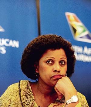 SAA board chairperson Dudu Myeni. (Picture: Muntu Vilakazi/City Press)