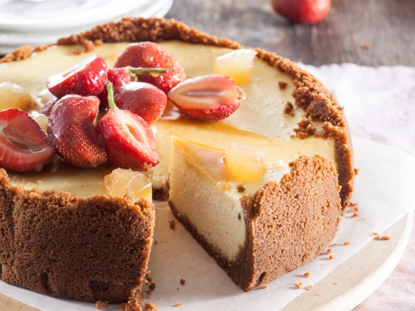 It's not too sweet – and the great kick of ginger and a delicious sticky sauce make this cheesecake unforgettable. PHOTO:Misha Jordaan