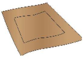 Paper rectangle illustration
