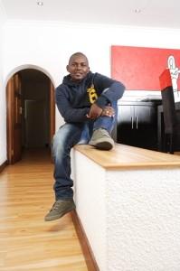 DJ Euphonik at home