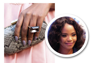Terry Petho's Stiletto nails for a classic look