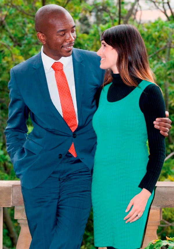 Mmusi and Natalie have been married for nine years and believe in maintaining good communication. PHOTO: Noncendo Mathibela