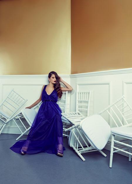 SWOON Trinity Dress Cobalt R1,250.00