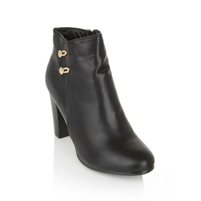 DOLCE VITA Ankle Boots With Gold Detail Black R495