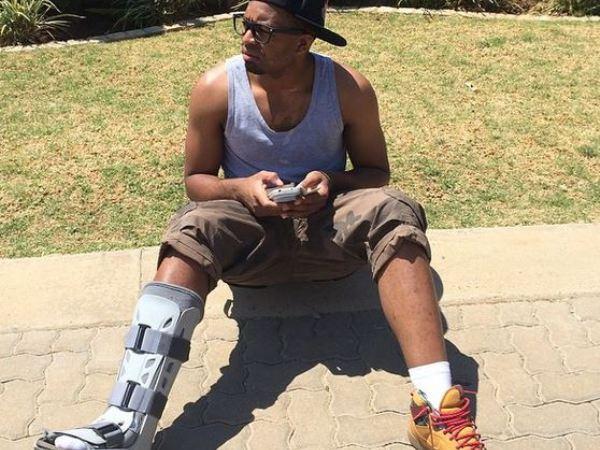 Itumeleng Khune is still nursing his injury. PHOTO:  Instagram