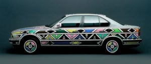 The 1991BMW Project, Esther Mahlangu converts the 325i into art