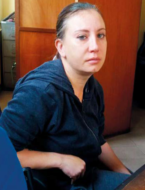 Marietjie Vosloo is being held in a single cell at the Sodnac police station. PHOTO: Supplied