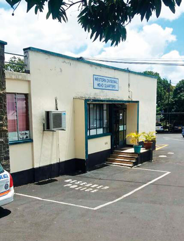 The police station where Marietjie was questioned. PHOTO: Supplied