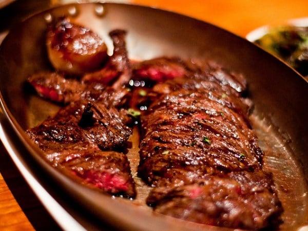 Wagyu skirt steak PHOTO: flickr user: ehfisher