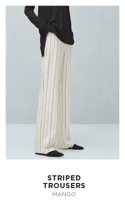 MANGO_Striped trousers