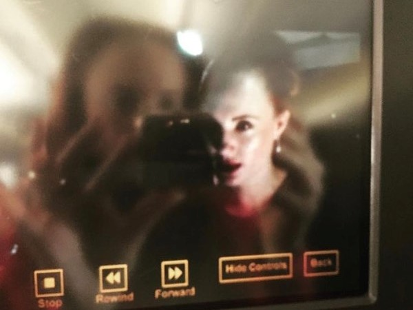 Watching myself on the plane, Jongo was part of the inflight screening entertainment that was on option. It was such a weird, yet cool feeling. PHOTO: Supplied