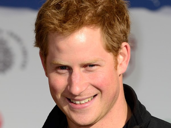 Prince Harry attends the Walking With The Wounded Departure Event