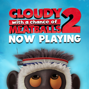 Cloudy with a Chance of Meatballs  opens in cinemas end January.