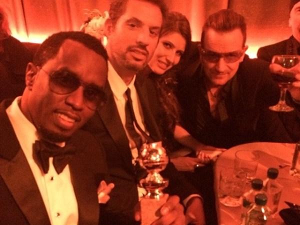 U2 with Diddy