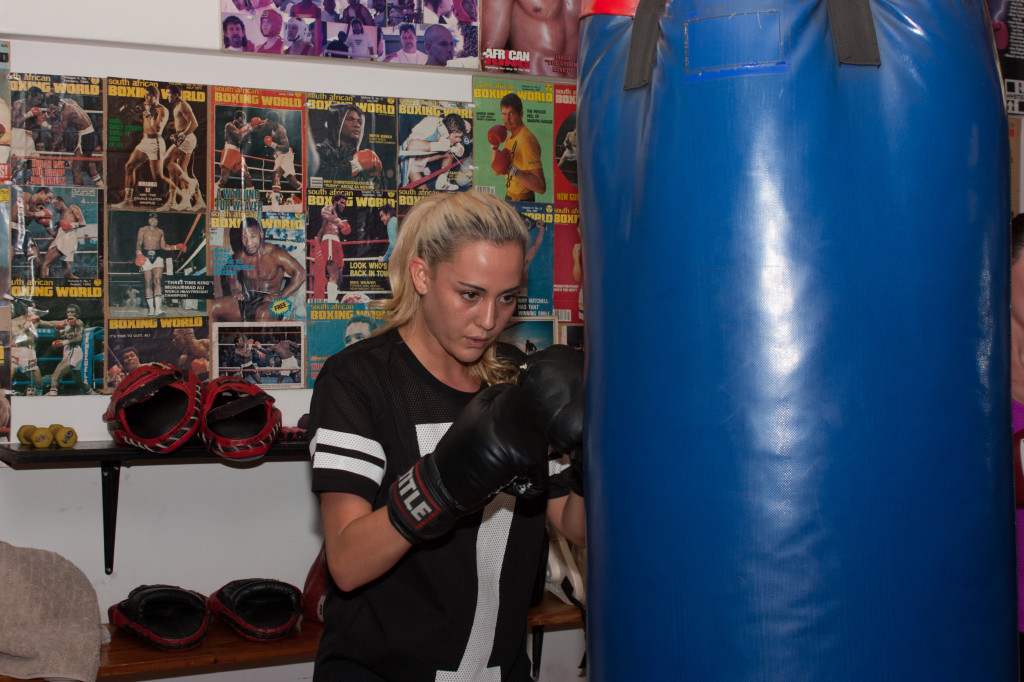 A way of fitness and self-defense, Boxercise seems to have become Jay's fun new craze