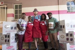 Fans take up the Plascon challenge with Rob Forbes all for a good cause