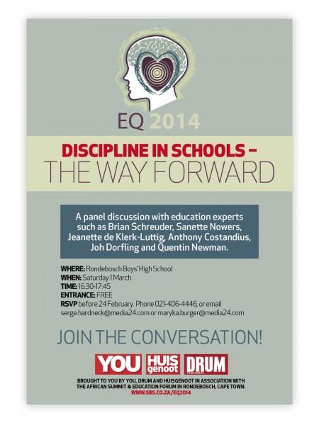 Discipline ad