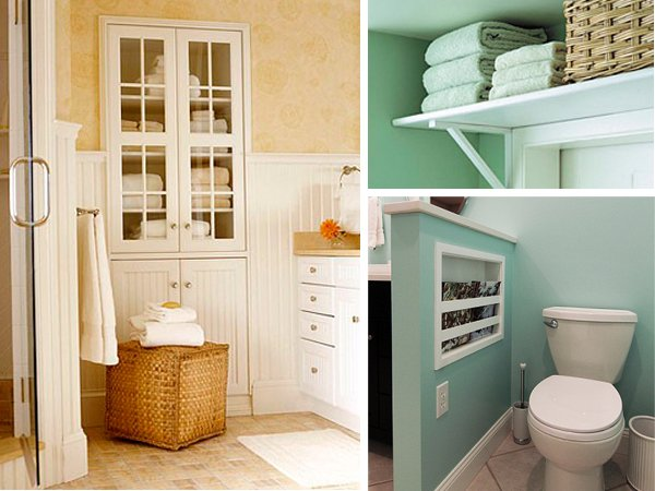 Delightful 14 Clever Bathroom Storage Ideas