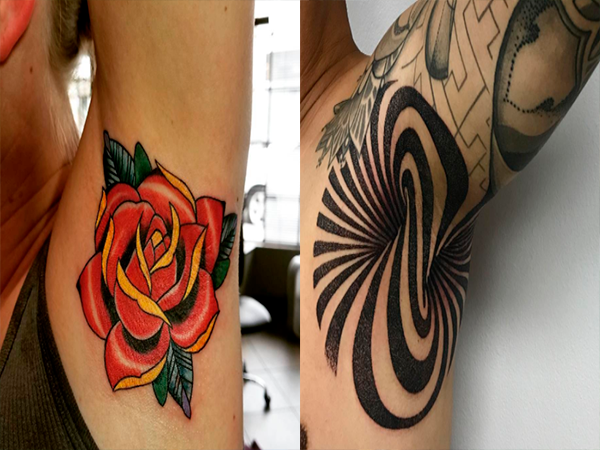 In Pictures Armpit Ink Is The Latest Tattoo Trend News24