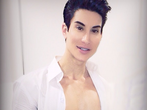 Justin has undergone more than 140 operations to make him look like the Ken doll.  PHOTO: Instagram