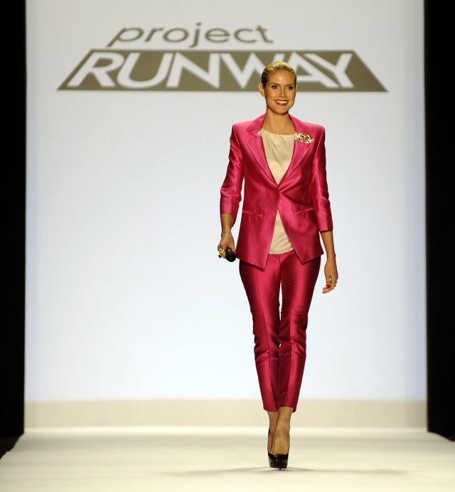 Tyra Banks Project Runway: Heidi Klum Retrospective