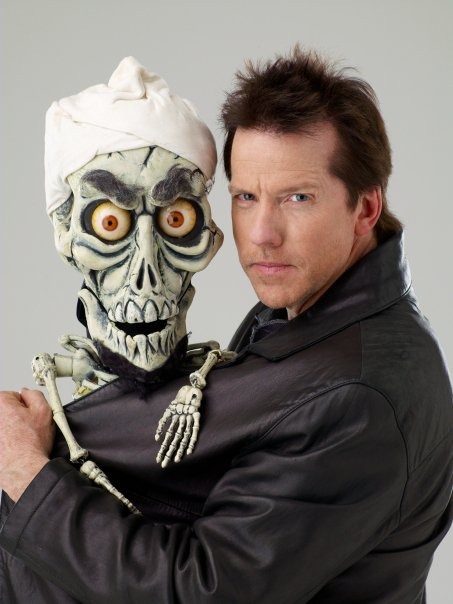Jeff and Achmed. PHOTO: Jeff and his pal Peanut. PHOTO: facebook.com/JeffDunham