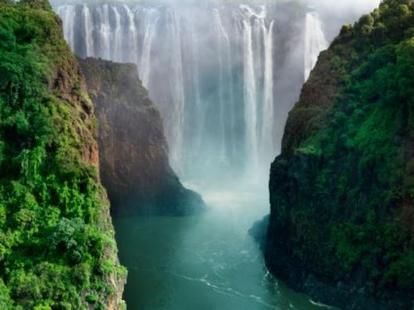 Where Has Vic Falls Gone Nearly Half Has Dried Up News24