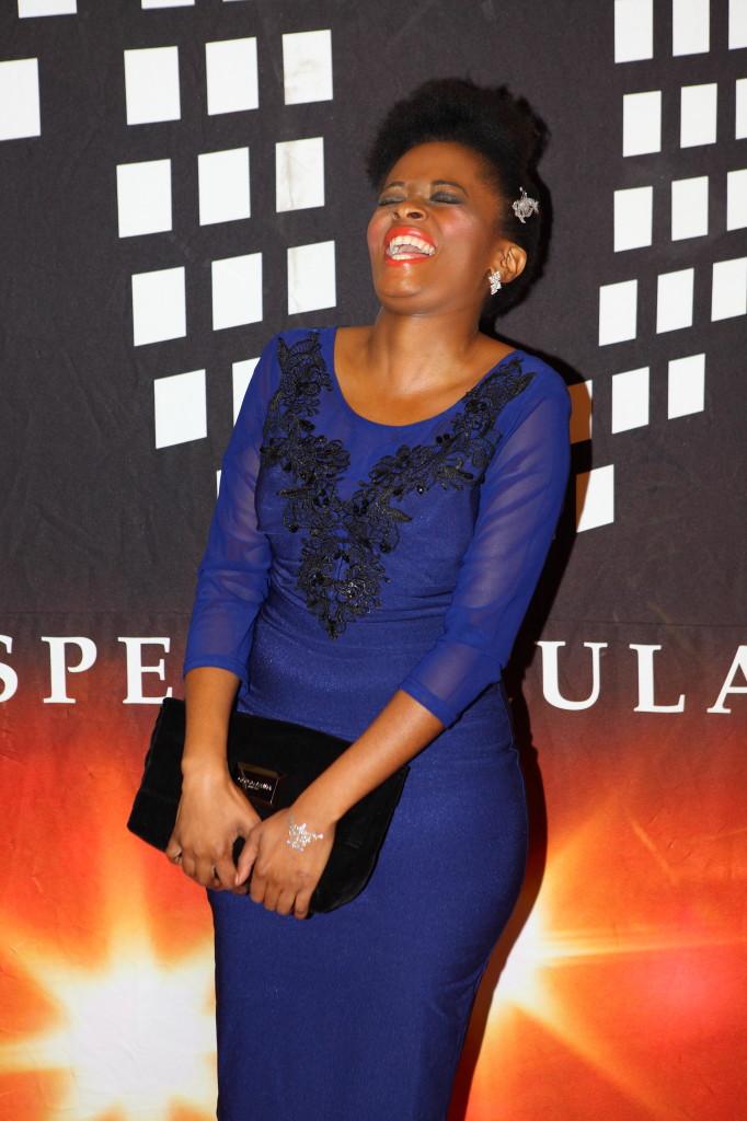 Isidingo actress Noluthando Nqayi, You Spectacular Awards 2014