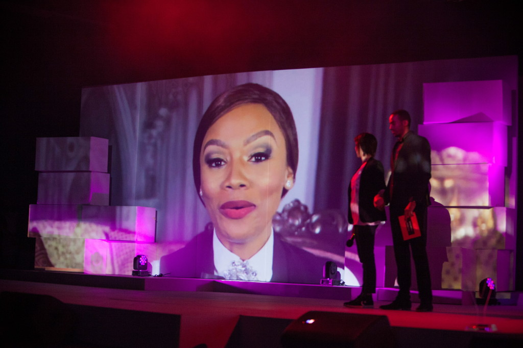 Bonang couldn't make it to the event to accept her Most Stylish Female Celeb Award -- but she sent us some video love. You Spectacular Awards 2014