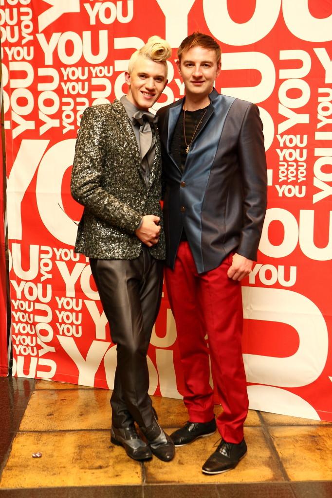 Gert-Johan Coetzee and his  husband Vicky oozed sophistication. PHOTO: Mduduzi Nzingi
