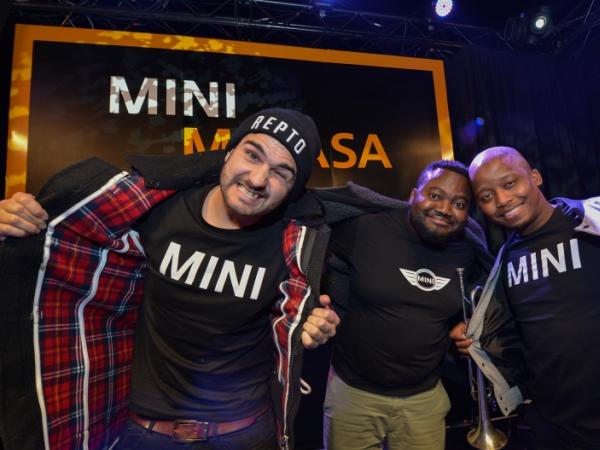 J'Something, Dr Duda & Mo-T make up MiCasa, the band that makes you Jika! PHOTO: Supplied.