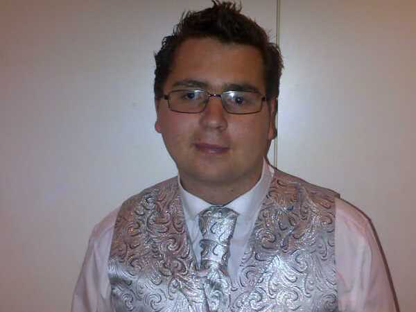 JP dressed up for his matric farewell. PHOTO: Supplied
