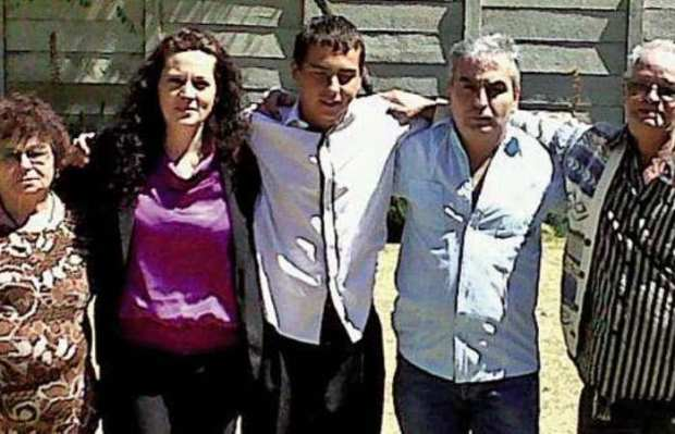 JP's grandmother Alzira, mom Mary-Ann, JP, dad Filipe and grandfather Fernando were a tight-knit family before the tragedy. PHOTO: Supplied