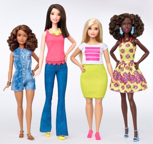 The new range also boasts seven different skin tones.  PHOTO: facebook.com/barbie