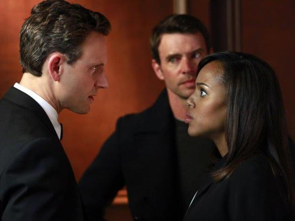 Fitz, Olivia and Jake, the president, the fixer and the fake boyfriend