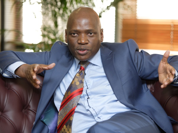 Motsoeneng started his career as a freelancer then became a permanent employee at the SABC in 2005. Photo: MDUDUZI NDZINGI