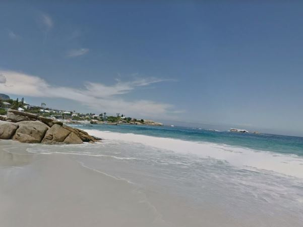 Cape Town's famous Clifton Beach. PHOTO: Google Street View