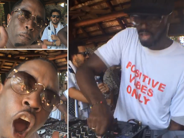 Watch Black Coffee Performs At P Diddy S House Party In Miami And