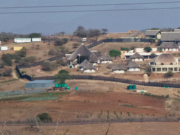 """It feels a bit unreal to be here where President Zuma has built himself virtually a small village,"" Dana Snyman wrote on his visit in 2014."