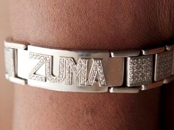 Khulu designed the bracelet himself.