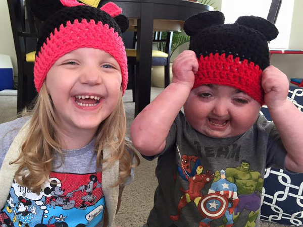 Reef and his sister Payten (6). PHOTO: Supplied