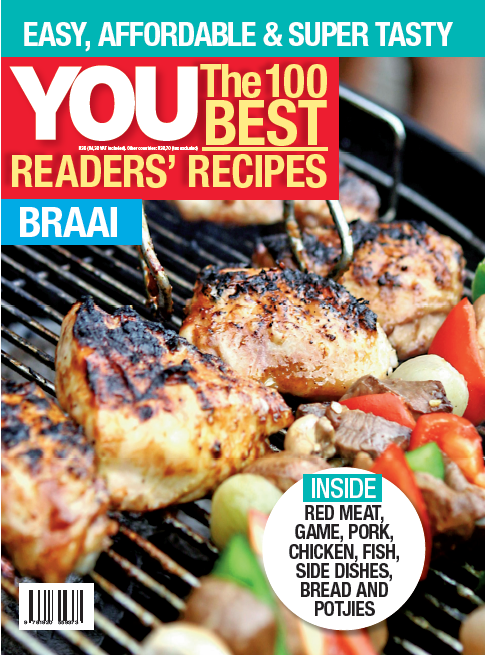 """This is just one of the mouthwatering recipes in YOU's<a href=""""http://youstore.co.za/shop/100-best-recipes-braai/"""" target=""""_blank""""><strong>The 100 Best Braai Recipes,</strong> available here.</a>"""