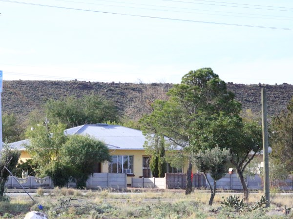 Duif and Helena's home in Beaufort West. PHOTO: Corrie Hansen