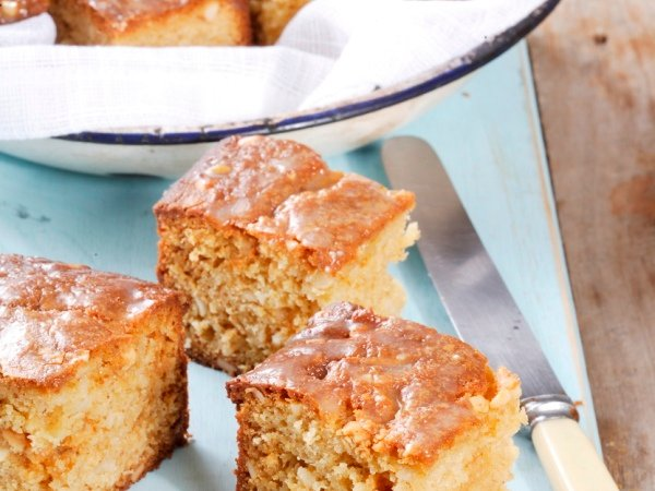 We just can't get enough of these scrumptious blondies! PHOTO: Jacques Stander