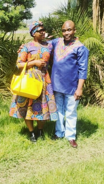 Constable Nobukhosi Msimanga (left) and her husband Thabo Msimanga, who were killed at their home in Edendale on Tuesday night.