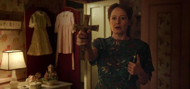 Miranda Otto in Annabelle: Creation. (Warner Bros)
