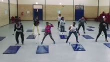 Nyanga residents turn to fitness as councillor starts boot camps