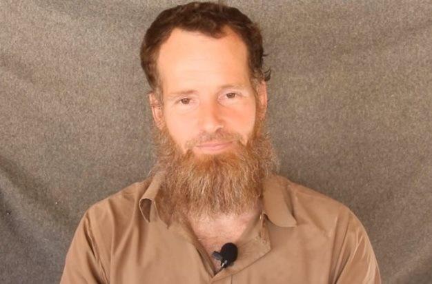 Screengrab of a captive Stephen McGown in a video Al-Qaeda.
