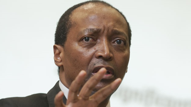Patrice Motsepe has denied allegations that he is meddling in Botswana's politics.(Gallo Images)